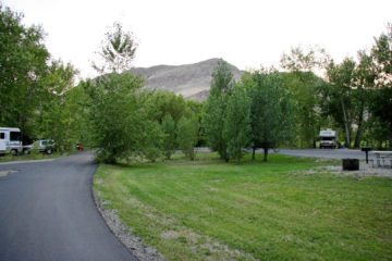Cottonwood BLM Campground, Salmon River, Idaho