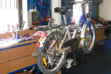 Fahrradreparatur in Emlichheim