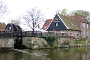 Mühlenteich am Haus Brünemann.