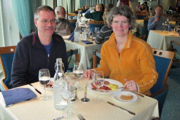 Mittagsbuffet auf der MS Trollfjord
