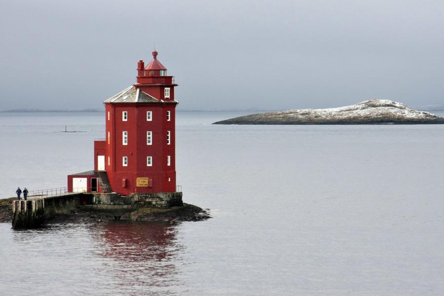 Nach Trondheim fängt es an, noch schöner zu werden: Leuchttürme ...