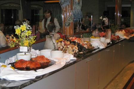 Abendbuffet auf der MS Trollfjord