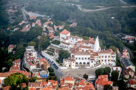 26.9. Blick auf Sintra