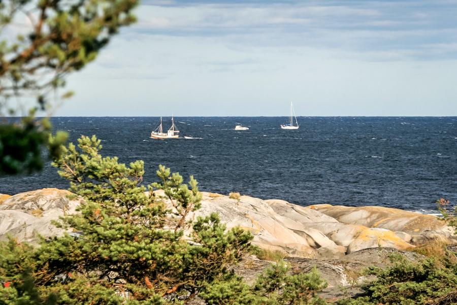 Tolle Aussicht aufs Meer :-)