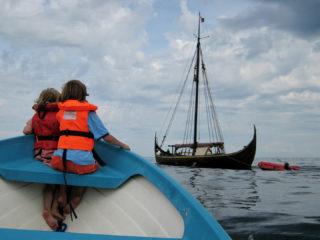 Motorbootfahren vor den Schären :-)