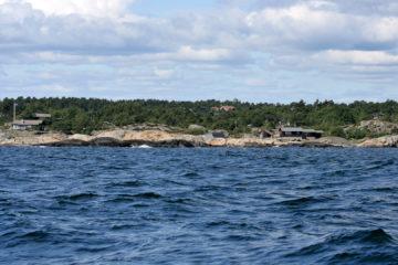 Auf hoher See Richtung Portør