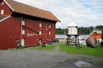 Schiffsmuseum in Langesund