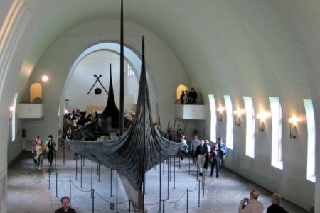 Rückfahrt: das Wikingermuseum.