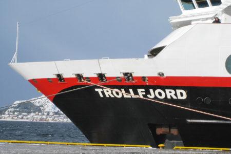 MS Trollfjord in Ålesund