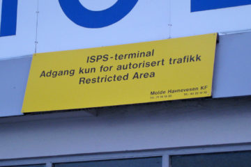 Auch in Molde: ISPS ;-)