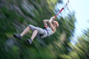 """19.7. Klettersteig """"Abenteuer am Wasserfall"""""""