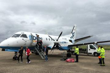 11.9.2016 - Flybe Edinburgh-Stornoway