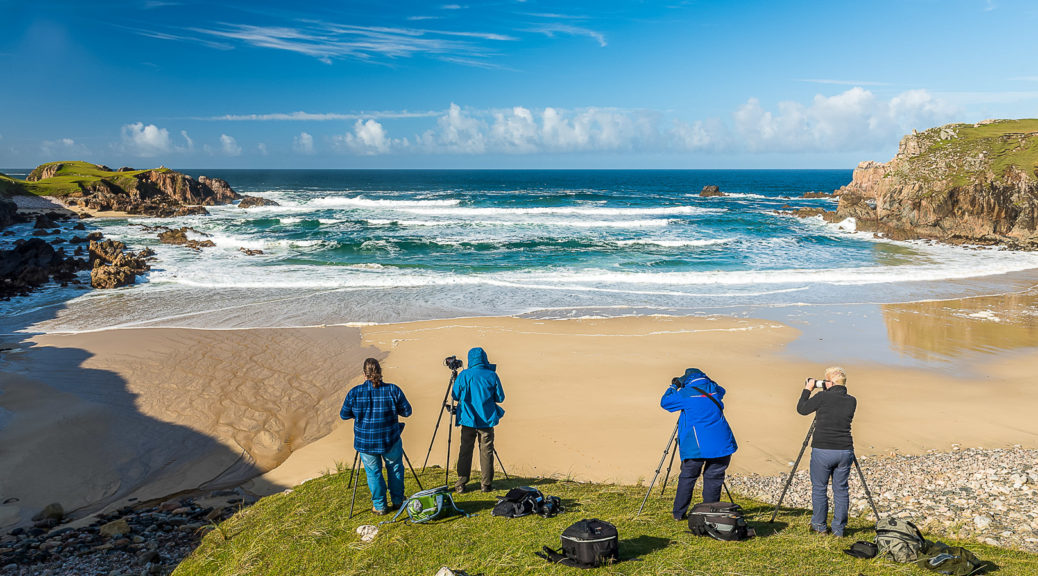 13.9.2016 - Mangersta Beach (Cathy, Alec, Ian, Michael)