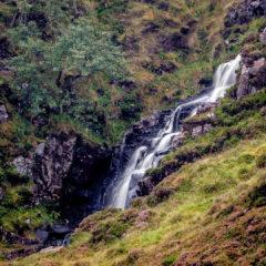 15.9.2016 - Wasserfall, Glen Valtos bei Uig