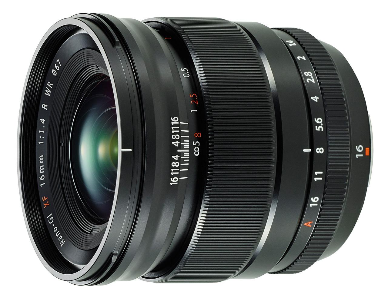 Fuji 16mm f/1.4 WR
