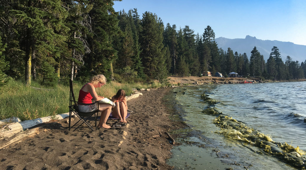 18.8.2017 - Newberry NVM, Relaxing am Paulina Lake
