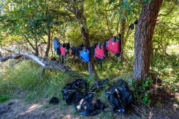 31.7.2017 - Campgrond auf Stuart Island