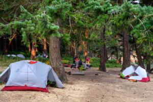 1.8.2017 - Campsite auf Jones Island (Tag 1: ~21km)
