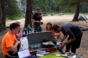 1.8.2017 - Campsite auf Jones Island