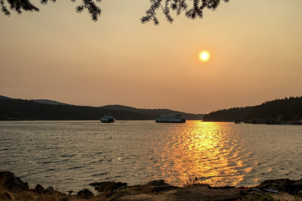 3.8.2017 - Sonnenaufgang, Blind Island