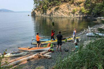 3.8.2017 - Ankunft auf James Island (Tag 4: 21km)