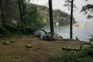3.8.2017 - Campsite, James Island
