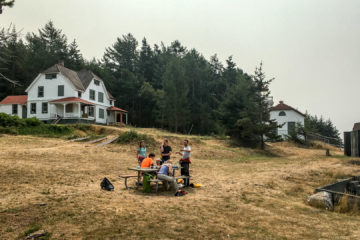 4.8.2017 - Lunch, Burrows Island Lighthouse