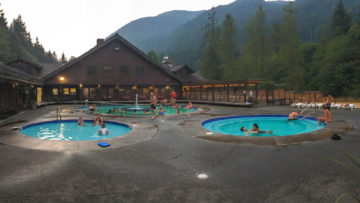 8.8.2017 - Olympic NP, Sol Duc Hot Springs