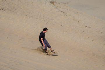 14.8.2017 - Cape Kiwanda Natural Park, Sandboarding