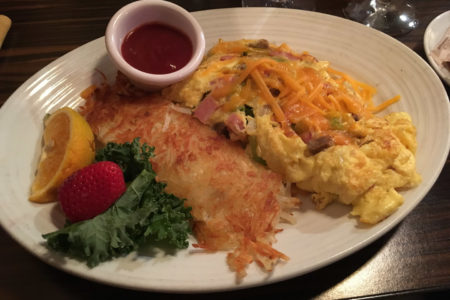 30.7.2017 - Frühstück im Arctic Club