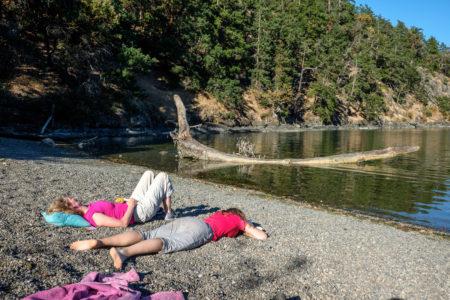 31.7.2017 - Relaxing auf Stuart Island