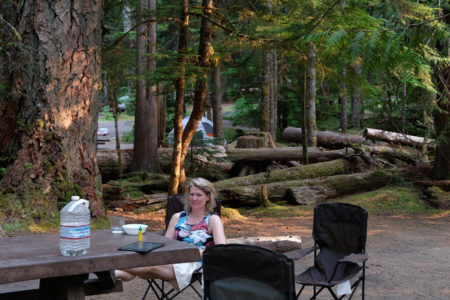 6.8.2017 - Olympic NP, Heart o' the Hills Campground, Site 34