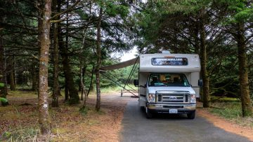 12.8.2017 - Cape Disappointment SP, Campground, Site 177