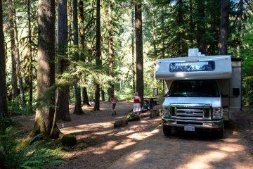 17.8.2017 - Paradise Campground, Oregon, Site 51