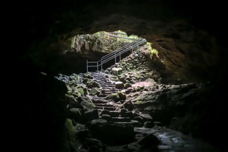 23.8.2017 - Ape Cave, Mt.St.Helens NVM