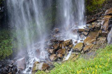 24.8.2017 - Mt.Rainier NP, Narada Falls