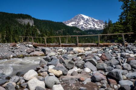 25.8.2017 - Mt.Rainier NP, Wanderung zu den Carter Falls