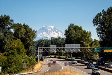 25.8.2017 - #167/#410 und der Mt.Rainier in 50 km Luftlinie