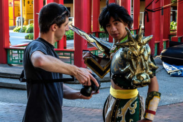26.8.2017 - Seattle Chinatown, Fest im Hing Hay Park