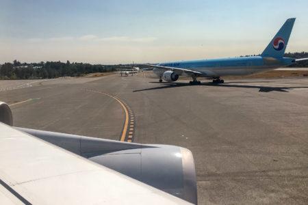 27.8.2017 - mit so einem kleinen Flugzeug war Karla geflogen