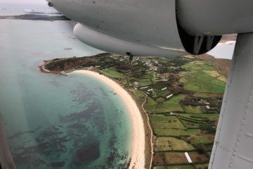 14.10.2017 - Flug Land's End - Scilly Islands