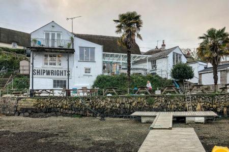 28.10.2017 - Helford Wanderung, Shipwrights Arms