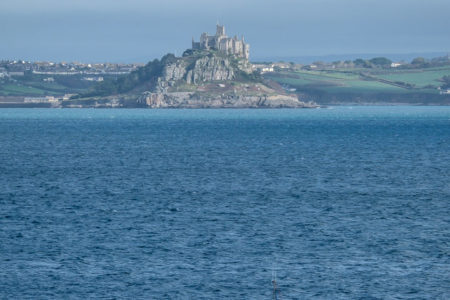 29.10.2017 - Wanderung Newlyn-Mousehole; St.Michael's Mount
