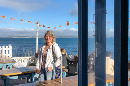 29.10.2017 - Wanderung Newlyn-Mousehole; Rock Pool Cafe