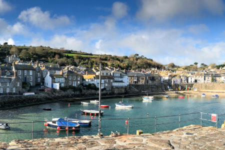 29.10.2017 - Wanderung Newlyn-Mousehole; Hafen in Mousehole