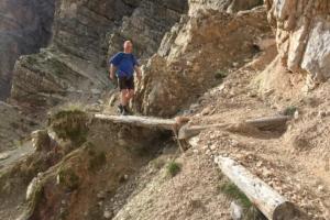 "10.8.2018 - Sentiero Astaldi, ""versicherter Weg"""