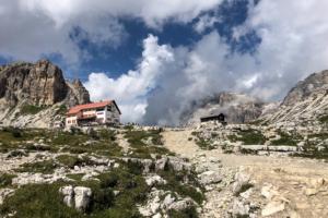 11.8.2018 - Aufstieg von Landro zur Dreizinnenhütte