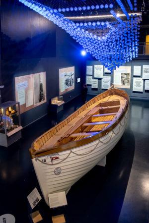 18.10.2018 - Maritime Museum, Falmouth - Beiboot der Titanic (Nachbau)