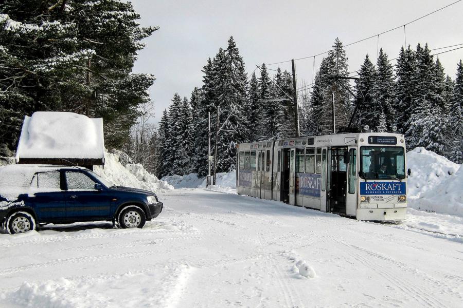 Die nördlichste Straßenbahn der Welt (Liam, Trondheim)