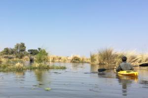 4.9.2019 - Kayak Tag 5 - 5,5 std Rückfahrt - Eli-Blockade